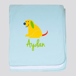 Aydan Loves Puppies baby blanket