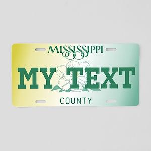 Mississippi Magnolia 1999-2003 number tag replica
