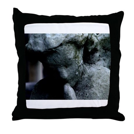 New Orleans' Historic Cemeter Throw Pillow