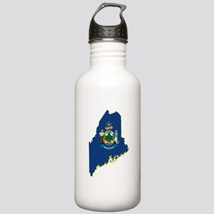 Maine Flag Stainless Water Bottle 1.0L