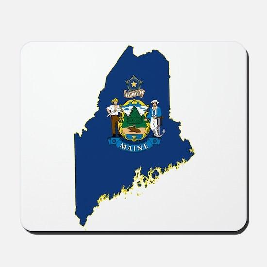 Maine Flag Mousepad