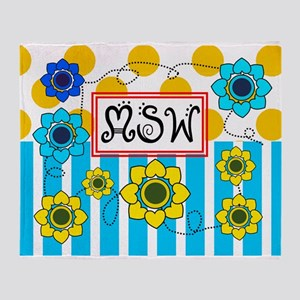 LSW MSW 3 Throw Blanket