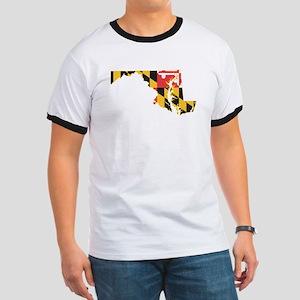 Maryland Flag Ringer T