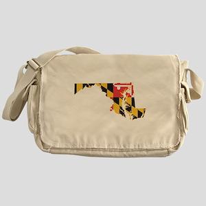 Maryland Flag Messenger Bag