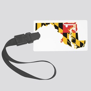 Maryland Flag Large Luggage Tag