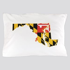 Maryland Flag Pillow Case