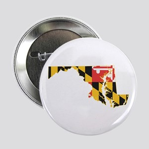"Maryland Flag 2.25"" Button"