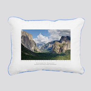 YosemiteValley14x10 Rectangular Canvas Pillow