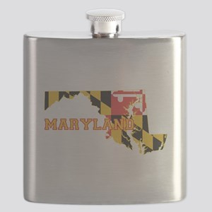 Maryland Flag Flask