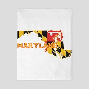Maryland Flag Twin Duvet