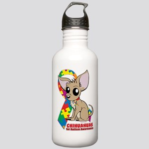 Chihuahuas for Autism Water Bottle