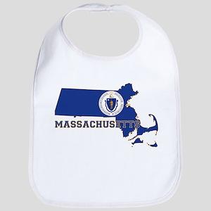 Massachusetts Flag Bib