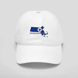 Massachusetts Flag Cap