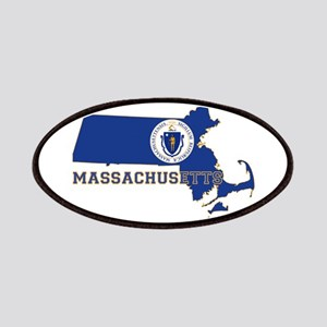 Massachusetts Flag Patches