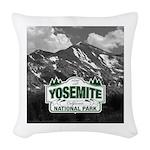 Yosemite Custom Photo Woven Throw Pillow