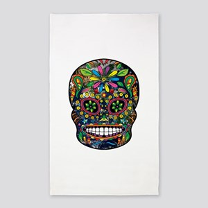Skull 3'x5' Area Rug