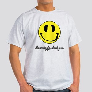 Swimmingly Thank You smiley T-Shirt