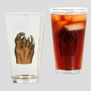 Pedicure Emergency Drinking Glass
