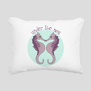 Under The Sea Rectangular Canvas Pillow