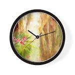 San Antonio Japanese Gardens Wall Clock