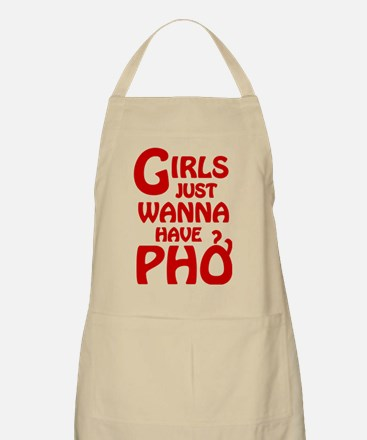 Girls Just Wanna Have Pho Apron