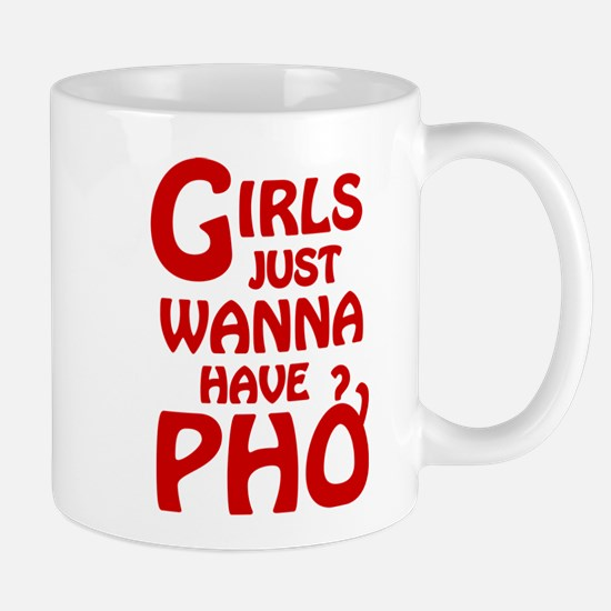 Girls Just Wanna Have Pho Small Mug