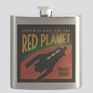 Red Planet Flask