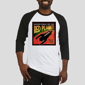 Red Planet Baseball Jersey