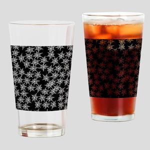 Spider Webs Drinking Glass