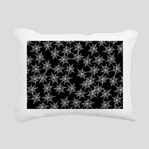 Spider Webs Rectangular Canvas Pillow