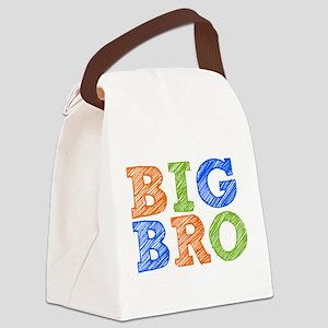 Sketch Style Big Bro Canvas Lunch Bag