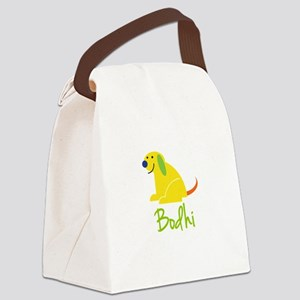 Bodhi Loves Puppies Canvas Lunch Bag