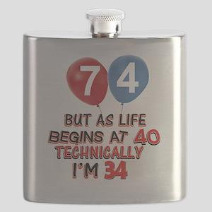 74 Flask