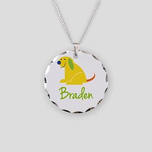 Braden Loves Puppies Necklace