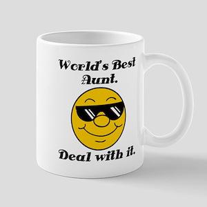 World's Best Aunt Humor Mug