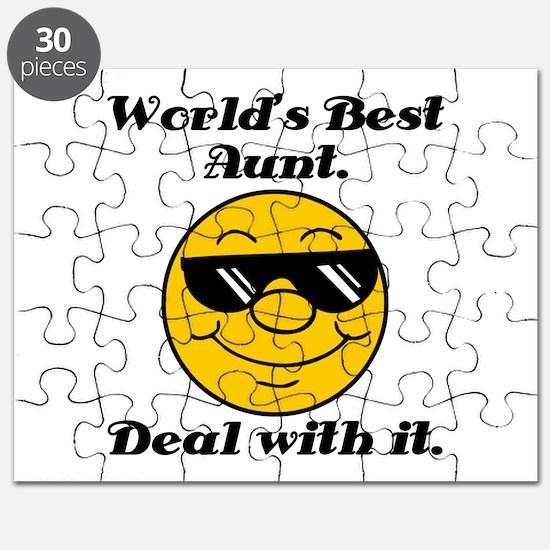 World's Best Aunt Humor Puzzle