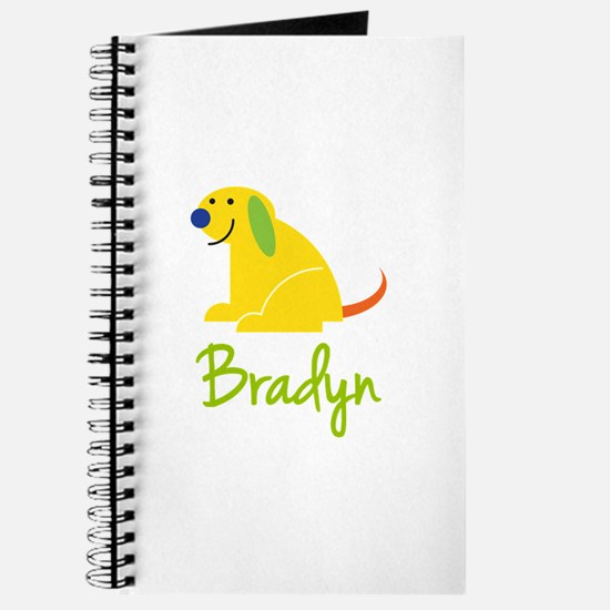 Bradyn Loves Puppies Journal