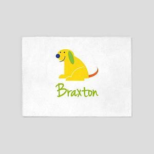 Braxton Loves Puppies 5'x7'Area Rug