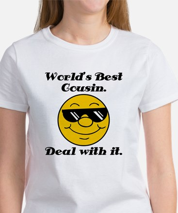 World's Best Cousin Humor Women's T-Shirt