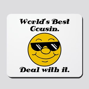 World's Best Cousin Humor Mousepad