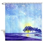 Starry, Starry Night in San Antonio Shower Curtain