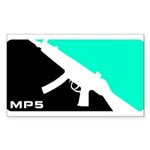 MP5 Shirt - 9mm Firearms Apparel Sticker