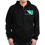 MP5 Shirt - 9mm Firearms Apparel Zip Hoodie