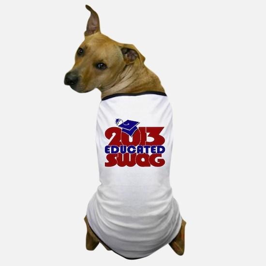 Educated Swag RW&B Dog T-Shirt