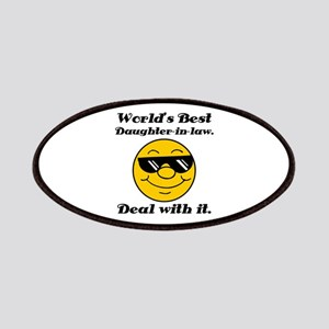 World's Best Daughter-In-Law Humor Patches