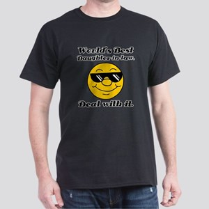 World's Best Daughter-In-Law Humor Dark T-Shirt
