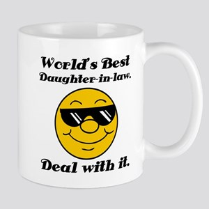 World's Best Daughter-In-Law Humor Mug