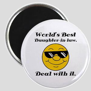 World's Best Daughter-In-Law Humor Magnet