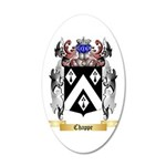 Chappe 20x12 Oval Wall Decal
