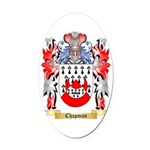 Chapman Oval Car Magnet